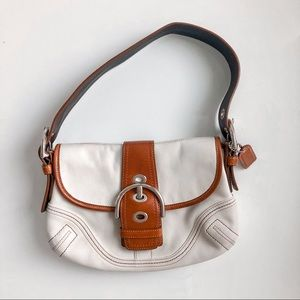 Vintage Y2K Coach Leather Hobo Bag Handbag